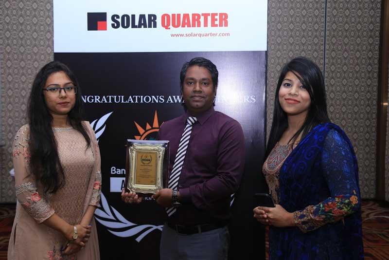 Bangladesh Solar Week Award 2019